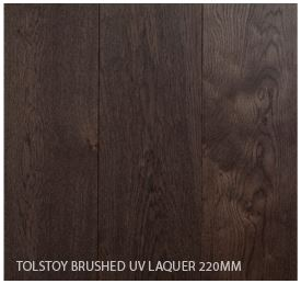 Tolstoy Brushed UV Laquer