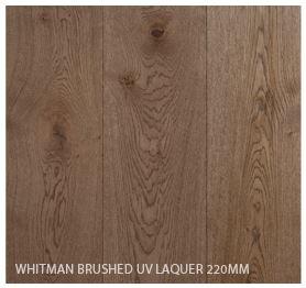Whitman Brushed UV Laquer